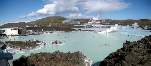 blue lagoon outdoor spa