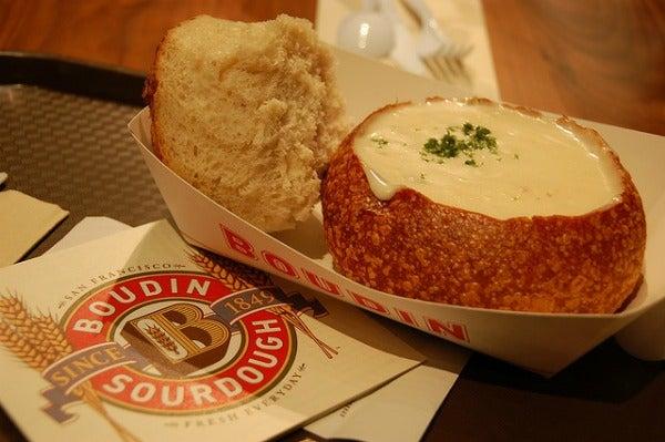 boudin sourdough bread bowl
