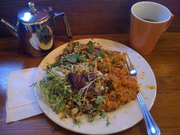 Cornucopia Vegetarian Restaurant in Dublin