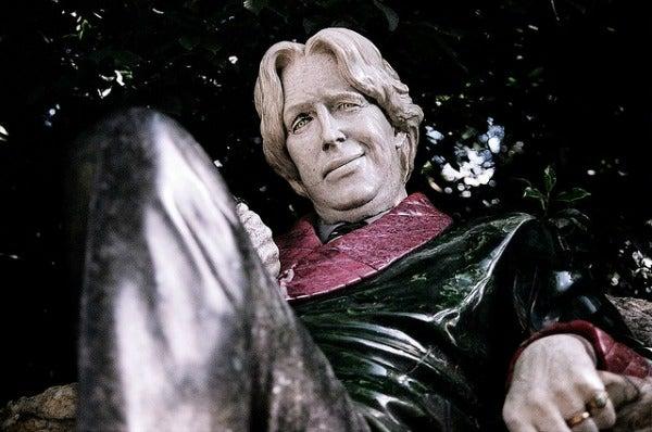 Oscar Wilde's Statue in Dublin