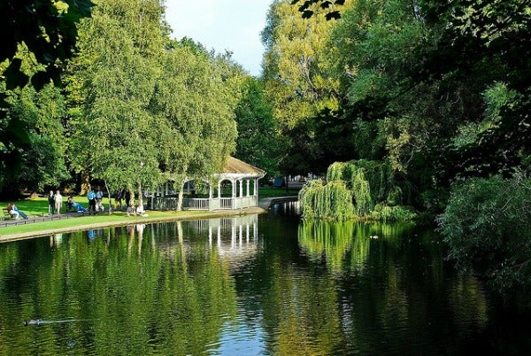St. Stephen's Green - lac Dublin