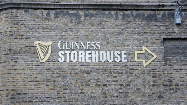 The Guinness Storehouse in Dublin