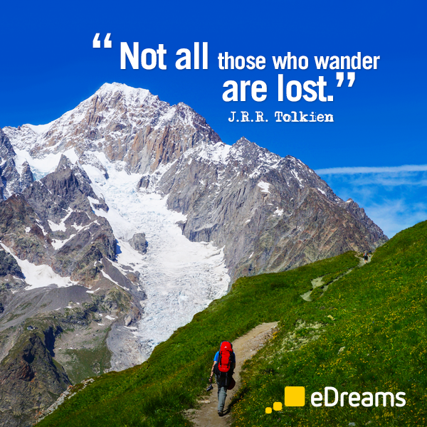 JRR Tolkien travel quote