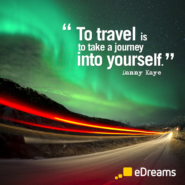 Danny Kaye Travel Quote