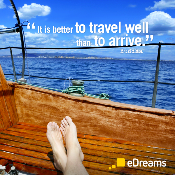 Buddha travel quote