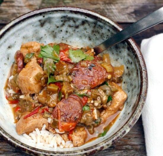Dish of Gumbo