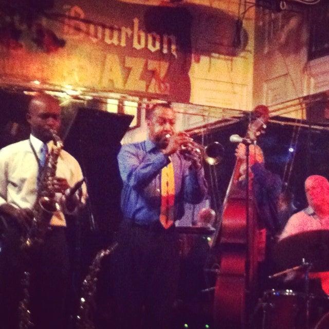 Jazz band performing in NOLA