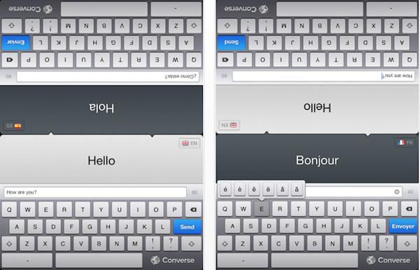 converse language app