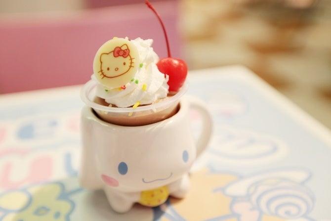 Sweet treats at Sanrio Puroland - Hello Kitty amusement park