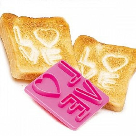 love on a toast