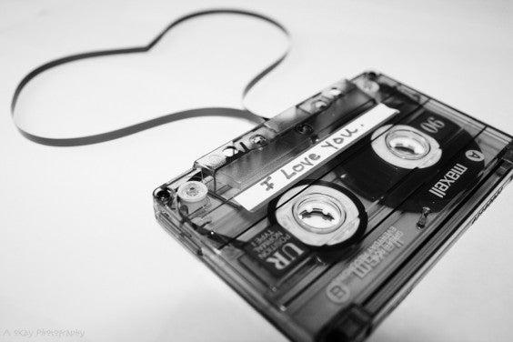 valentine's day gift idea: Mix tape