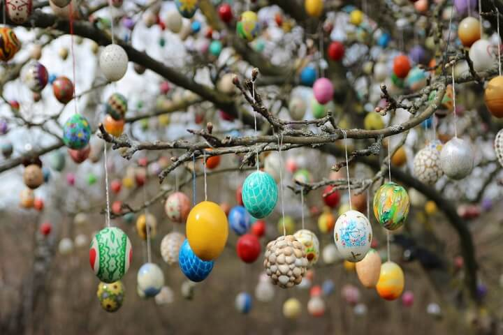 germany eggs spring tradition
