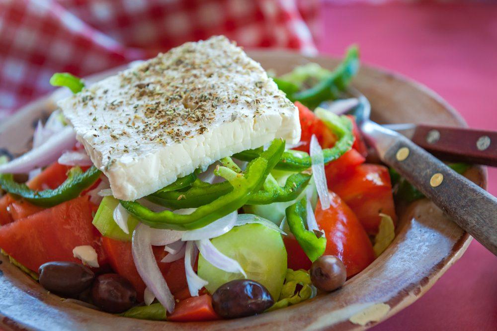 Fresh Greek food