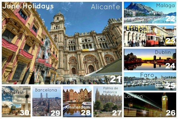 june holiday destinations edreams