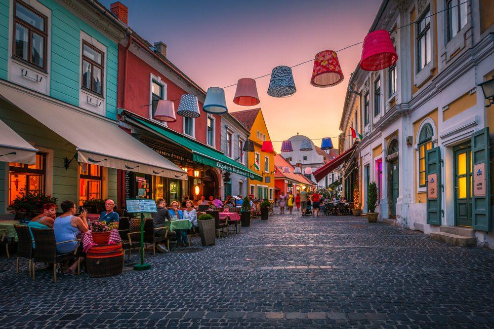 Charming street in Szentendre