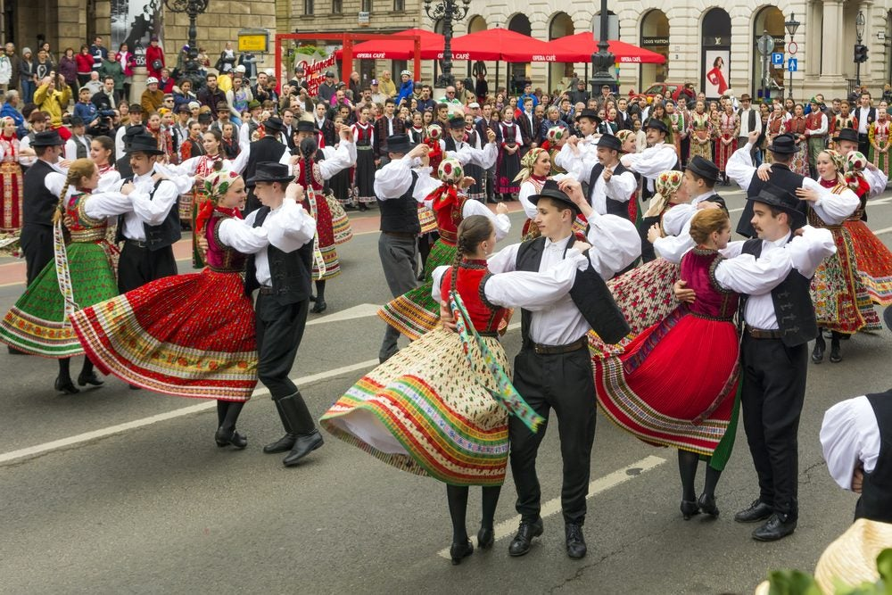 Traditional experience in Budapest: Hungarian folk dancing