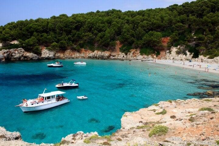 Cala Escorxada in Menorca