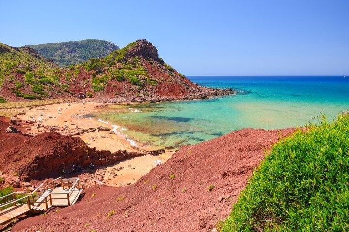 Cala Pilar in Menorca