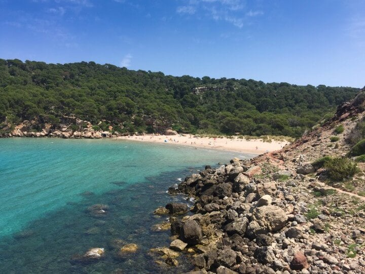La Vall - Menorca beach
