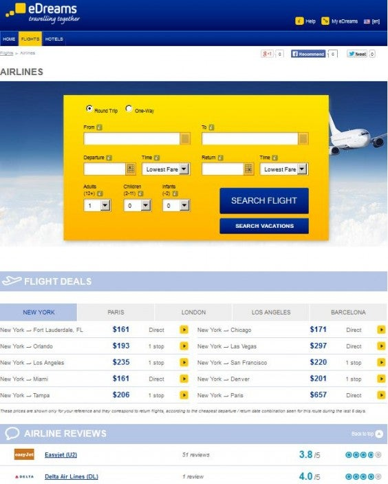 airline reviews