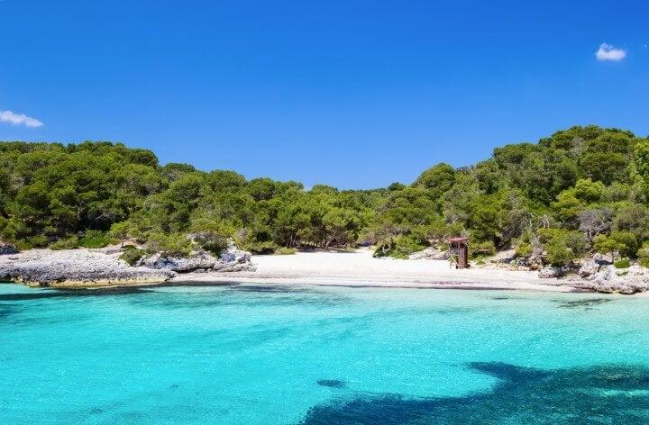 Cala Turqueta in Menorca