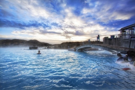 The Blue Lagoon in Islanda