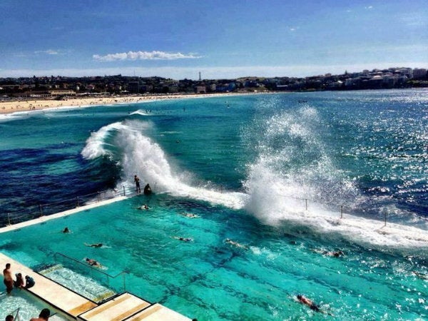 bondi beach pool australia