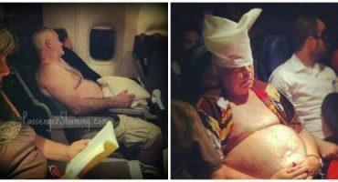 eDreams & Passenger Shaming Present Airplane Etiquette 101