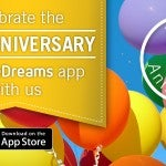 eDreams iPhone App Anniversary Promotion