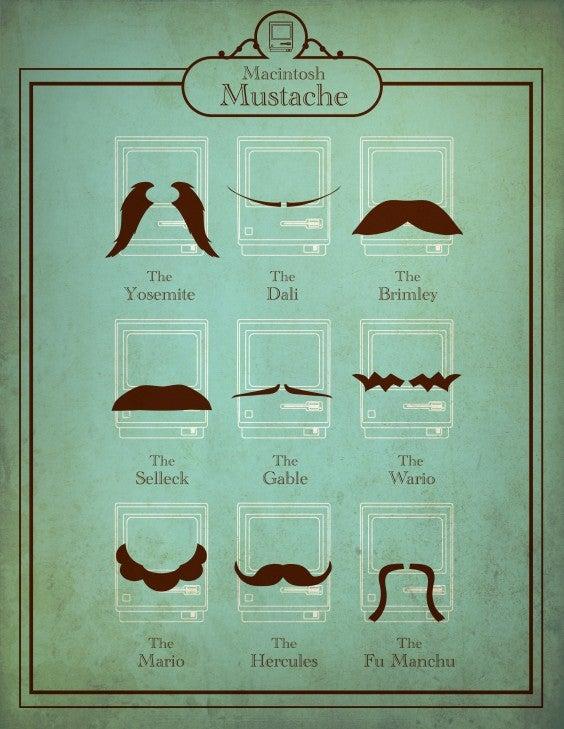 Mustache nicknames