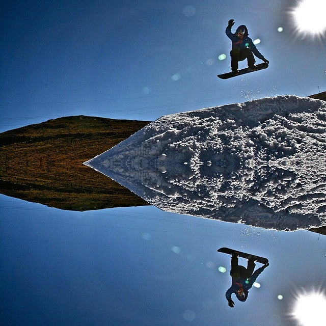 Skiing in Afriski, Lesotho