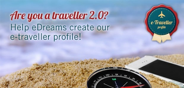 eDreams e-Traveller profile promotional image
