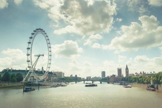 Around the world to London, UK