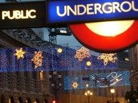 London during Christmas