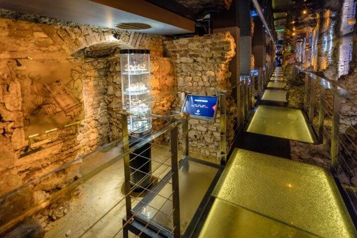 underground museum at krakow - poland