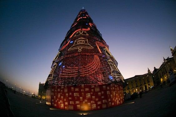 Lisbon during Christmas