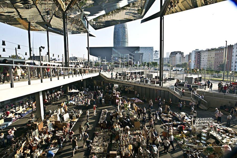 mercat dels encants barcelona