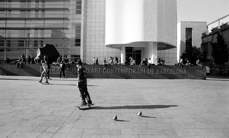 skate MACBA barcelona