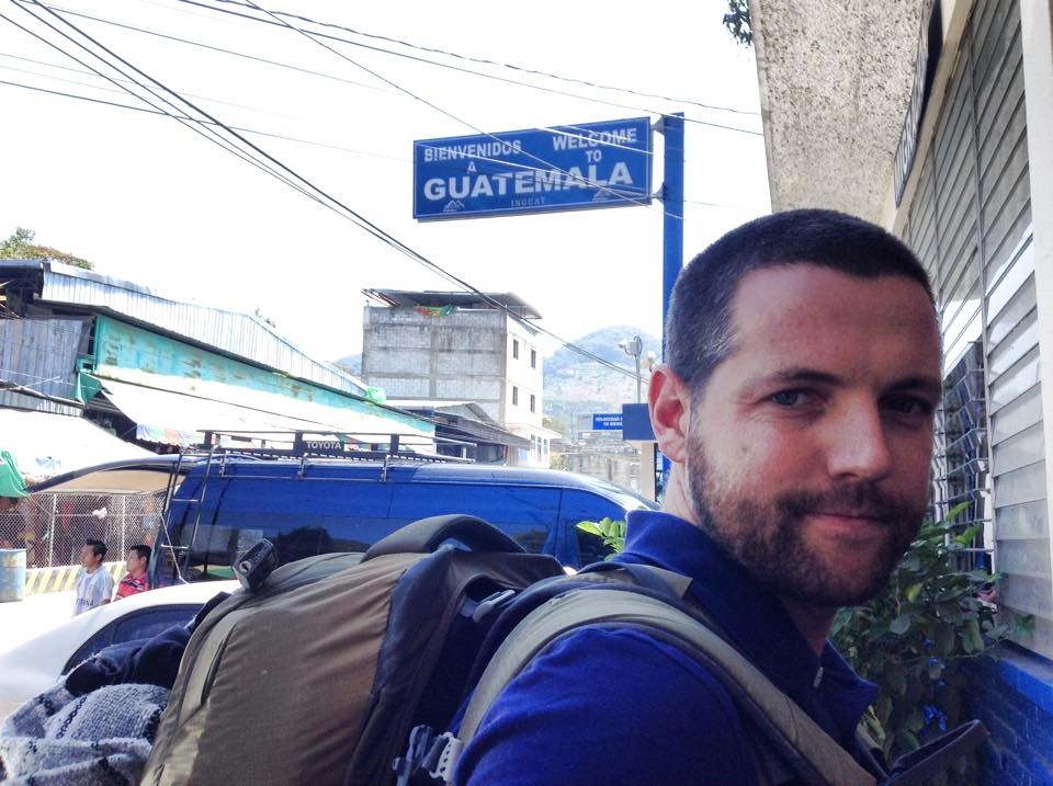 Goats on the road: Nick in Guatemala