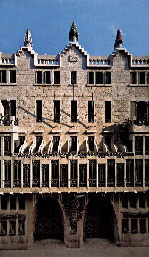 Photo Tour of Gaudi's Palau Güell
