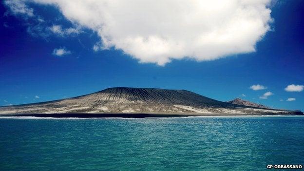 Nueva isla pacifico