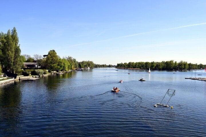 Alte Donau in vienna