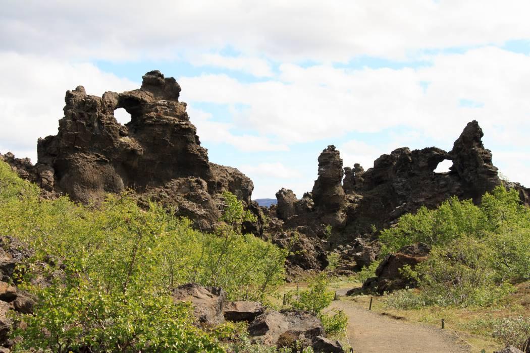 Dimmuborgir in Iceland
