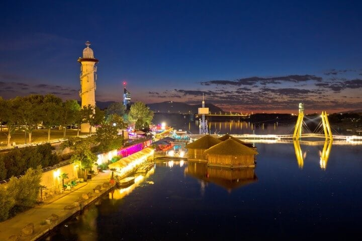Donauinsel in vienna