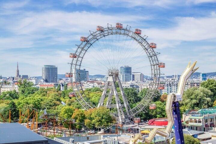 Giant Ferris Wheel in vienna
