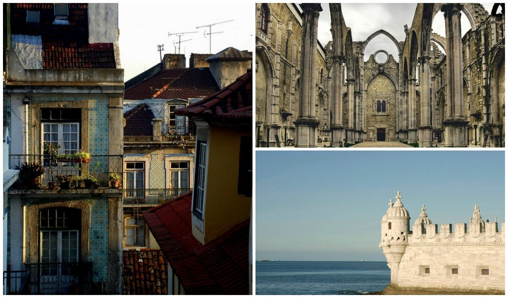 Paisajes de Lisboa, en Portugal