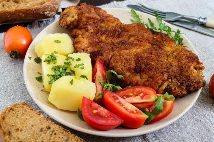 schnitzel from vienna