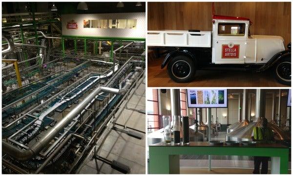 stella artois factory tour