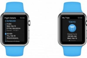 eDreams launches app for the Apple Watch