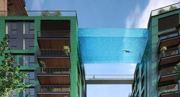 World's First 10-storey high 'Sky pool' in London